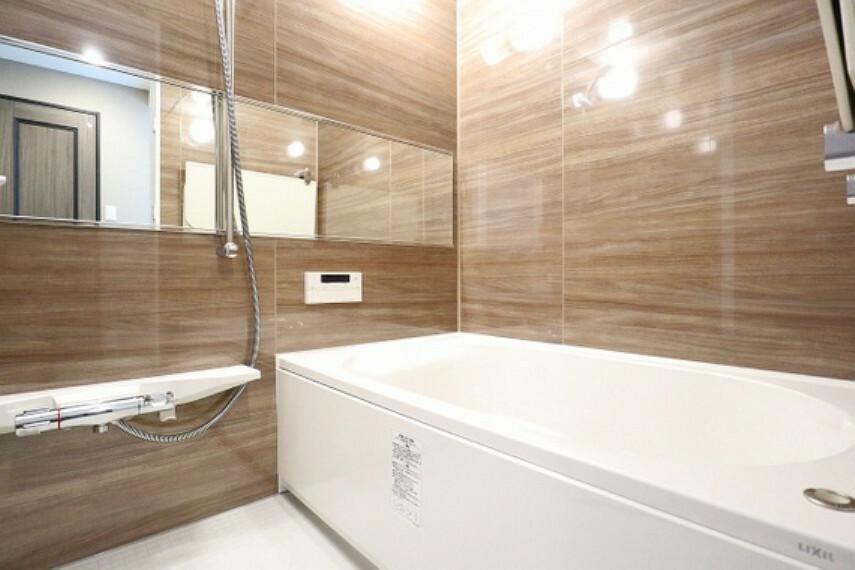 浴室 キレイな水廻りに一新されます(同仕様のバスルーム画像)