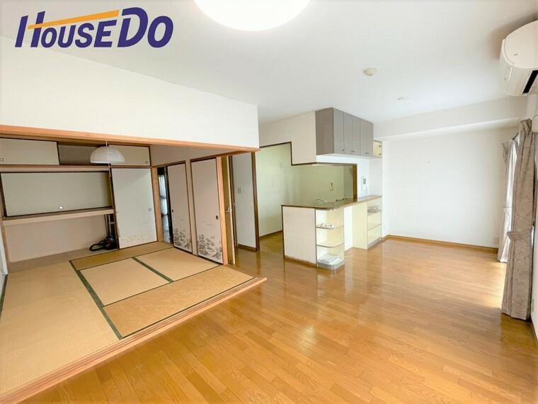 居間・リビング 家具配置がしやすいので自分好みにアレンジできます!