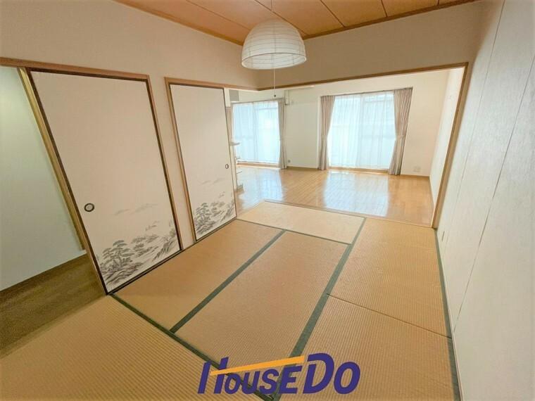 和室 1室はあると嬉しい和室。客間としてはもちろんのこと、小さいお子さんのプレイルームとして大活躍です!