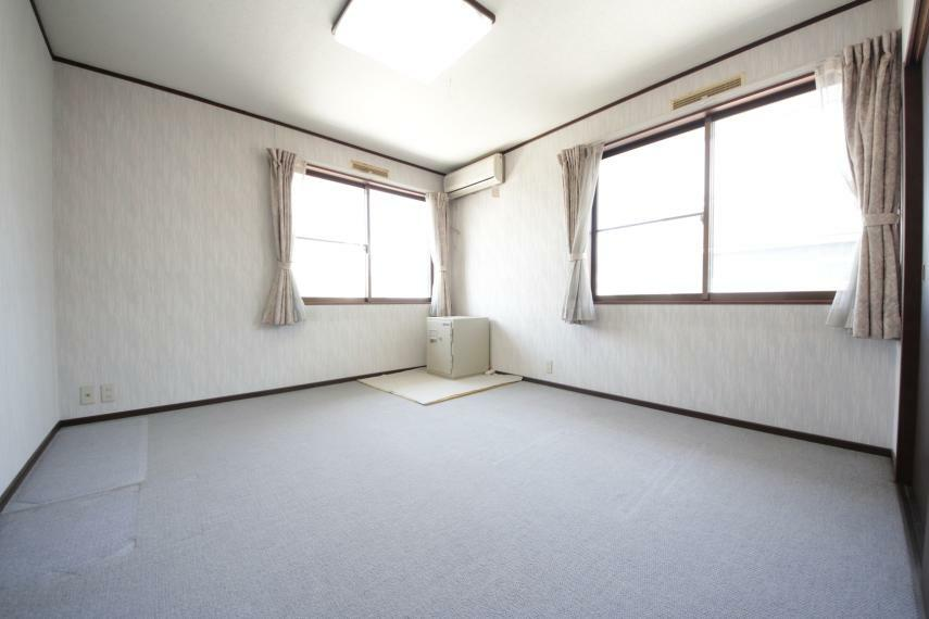 洋室 洋室は、お子様のお部屋や主寝室、来客時の宿泊室、趣味のお部屋としてもご利用いただけます!