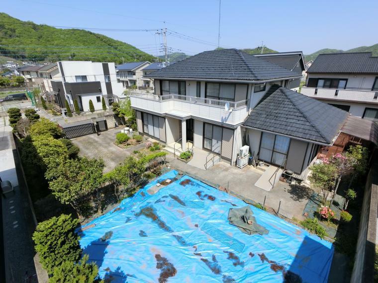 外観写真 庭が広く、家庭菜園も楽しめます(*^^*)