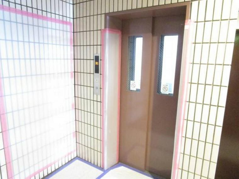 【エレベーター】スキップフロア有りのエレベーターですが、お部屋は停止階にございます。