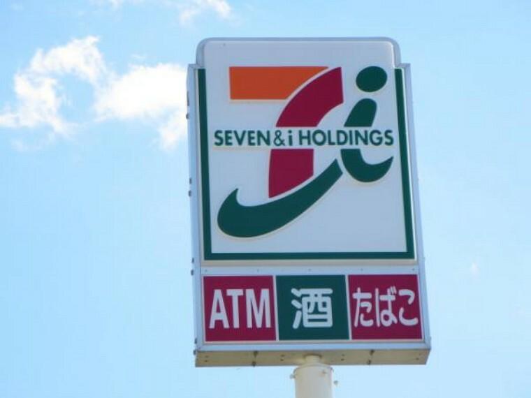コンビニ 「セブンイレブン」様まで徒歩6分(420M)です。コンビニは24時間営業なので、近くにあると便利ですよ。