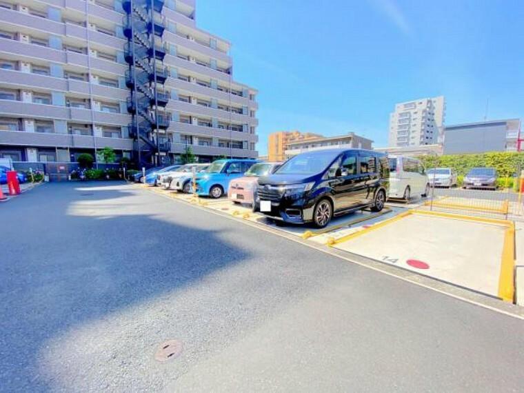 駐車場 現地写真