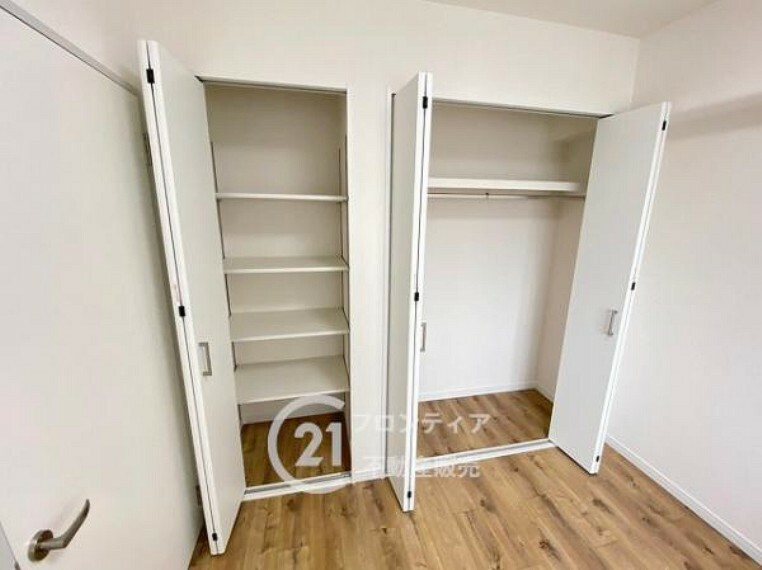 収納 収納スペースがありお部屋を広くお使いいただけます