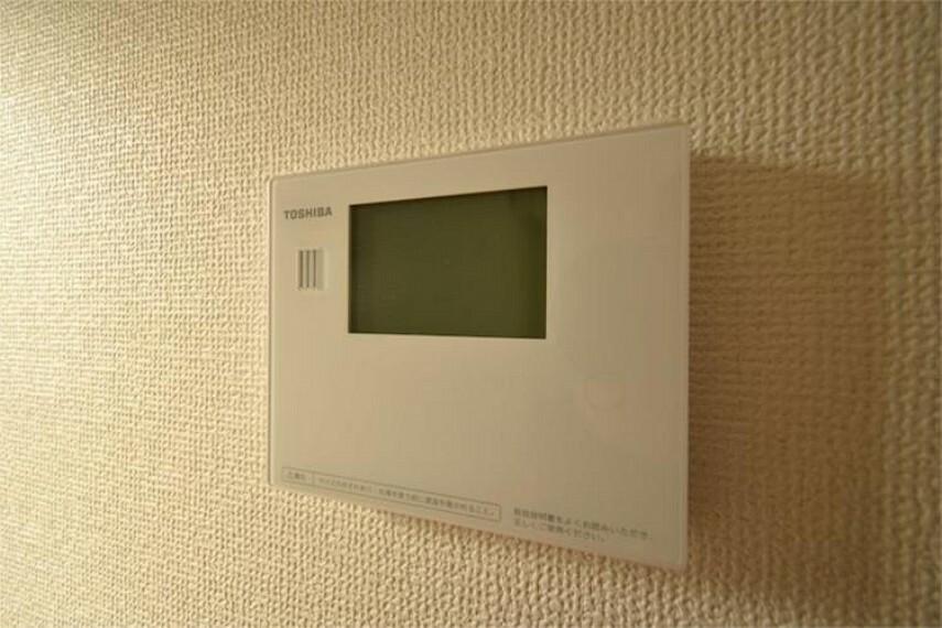 浴室 【施工例】給湯器リモコン