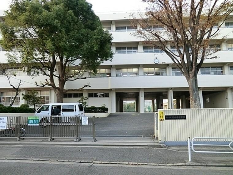 中学校 横浜市立丸山台中学校 学校教育目標:まちに生き、自分で自分の生き方を切り拓いていける生徒を育てます