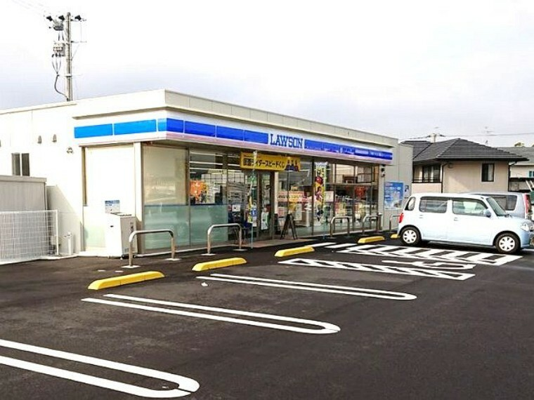 コンビニ 【コンビニエンスストア】ローソン 水巻吉田西三丁目店まで447m