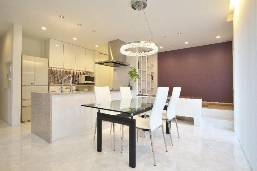 居間・リビング 家具を置いても家族がゆったりできる広さを確保