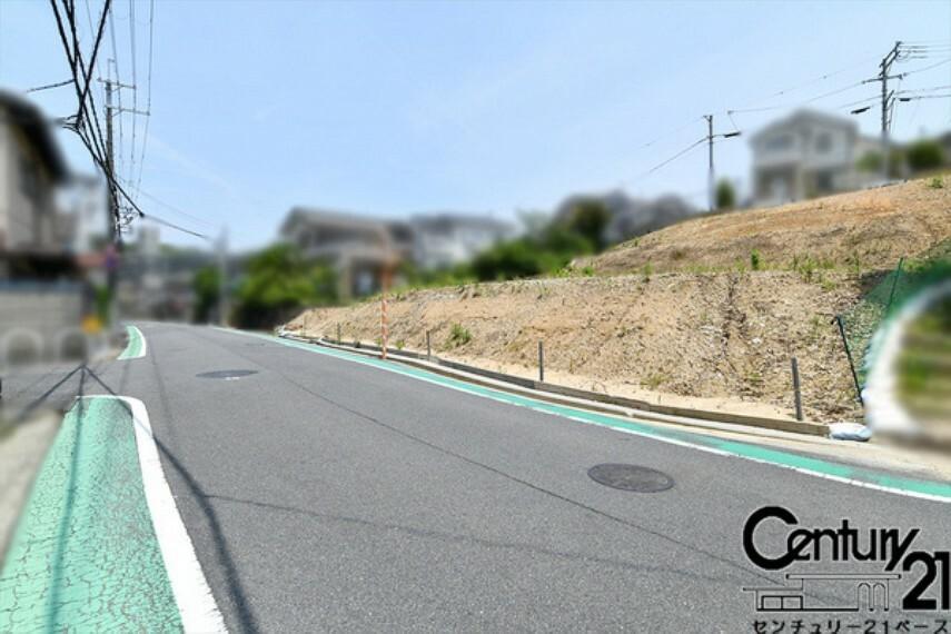現況写真 ■前面道路は広々6mあります!■