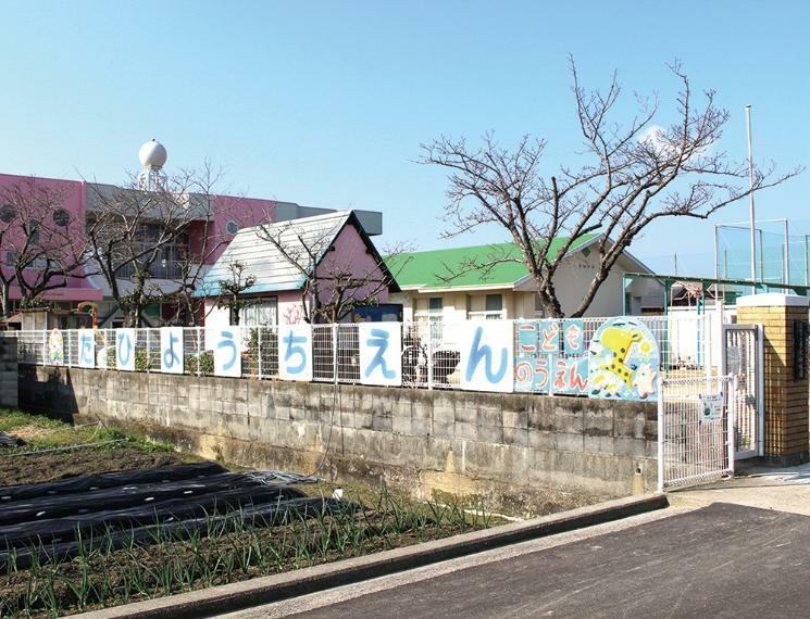 幼稚園・保育園 【高松市立多肥幼稚園】 ※掲載の周辺施設写真は2021年2月に撮影したものです。※徒歩時間は80mを1分とし換算(端数切り上げ)したものです。
