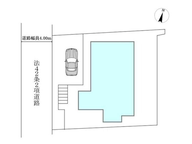 区画図 区画図■多摩市聖ヶ丘3 新築一戸建て■