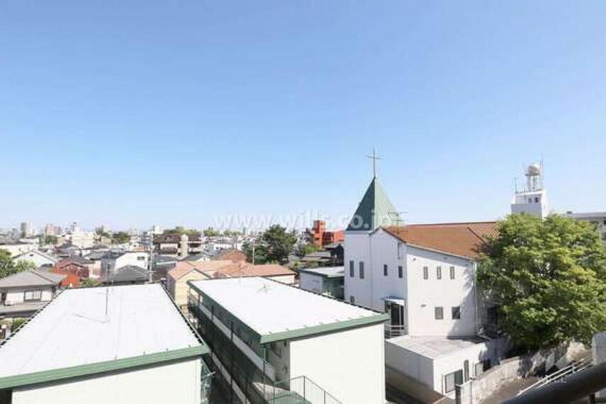 眺望 東側バルコニーからの眺め(南東方向)