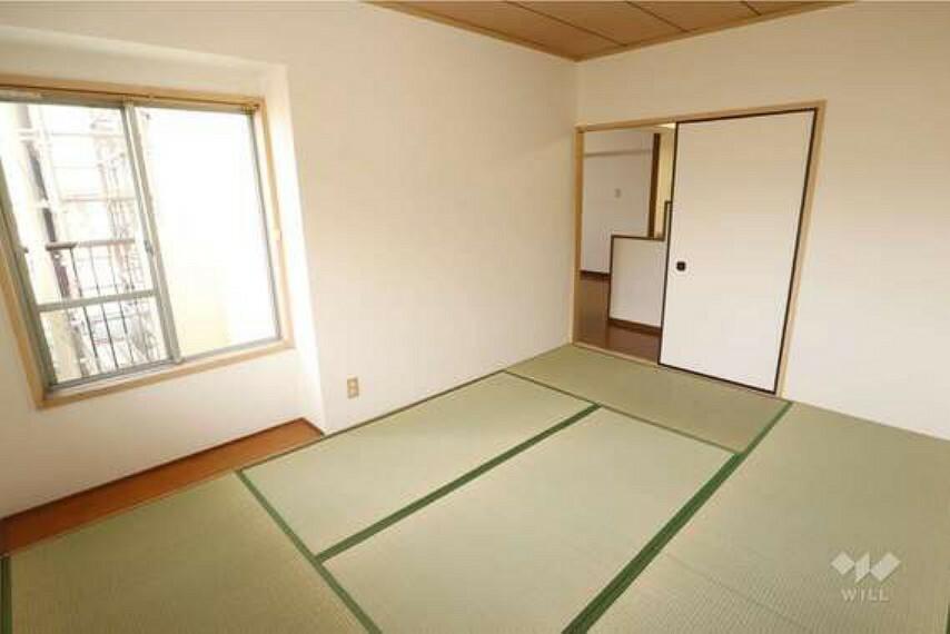 和室6帖。6帖以上あり、寝室としても子供部屋としても使い勝手が良さそうです。