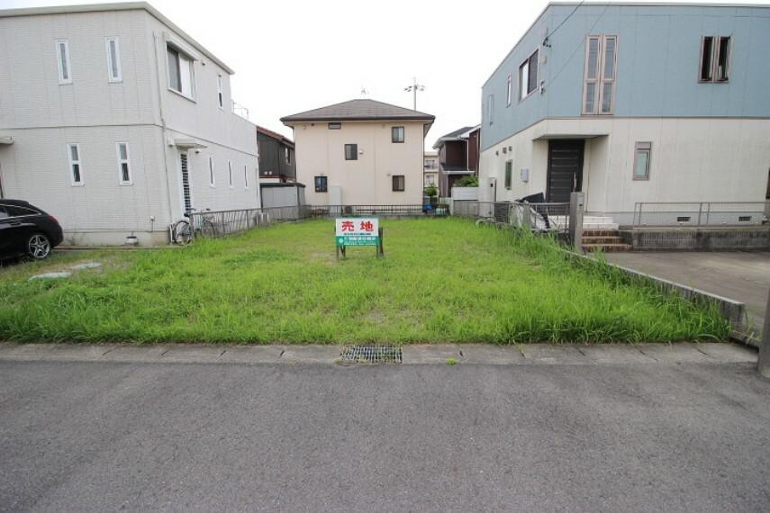 外観・現況 最適用途:住宅用地