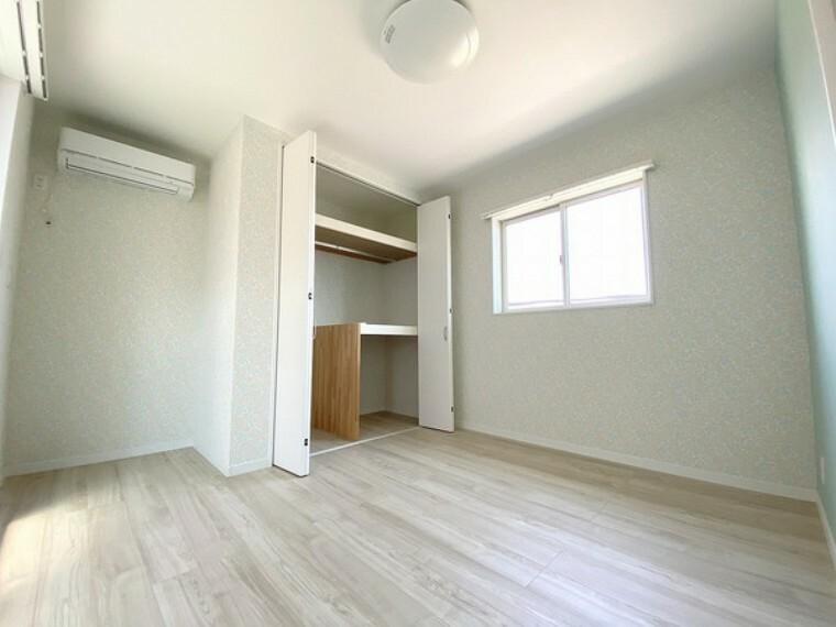 子供部屋 子供部屋もしっかり確保。自分だけの空間がうれしいですね