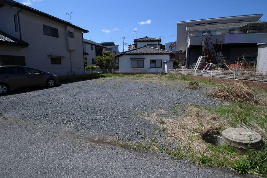 現況写真 2021年4月撮影 東側から敷地を南西方向へ