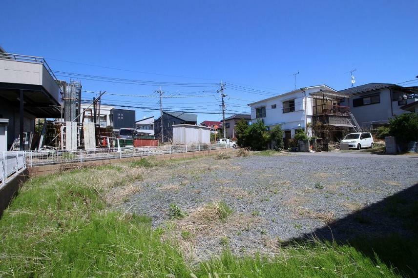 現況写真 2021年4月撮影 南西側から敷地を北東方向へ