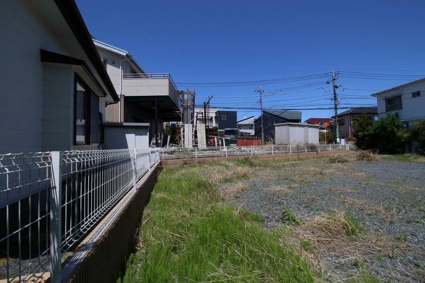 現況写真 2021年4月撮影 南側から敷地を北方向へ