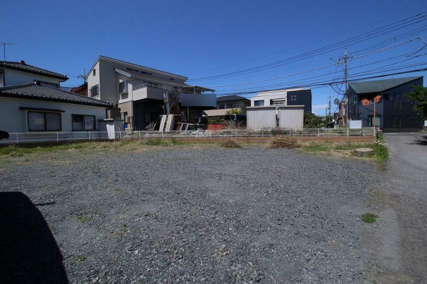 現況写真 2021年4月撮影 南東側から敷地を北西方向へ