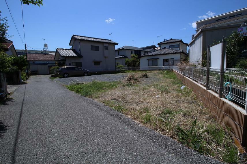 現況写真 2021年4月撮影 北側から敷地を南西方向へ