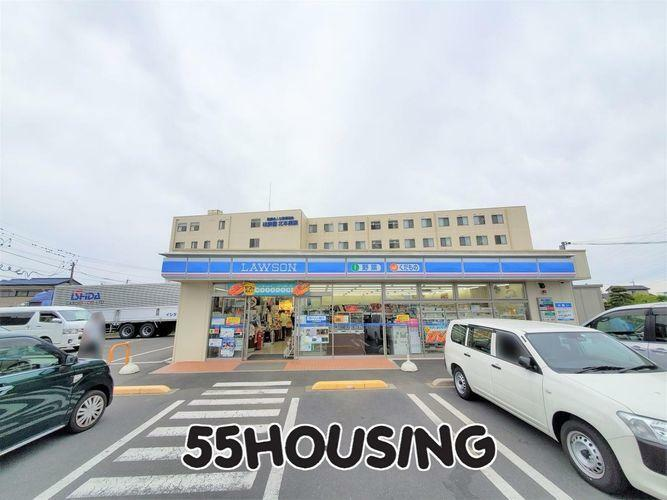 コンビニ ローソン北本深井三丁目店 徒歩6分。
