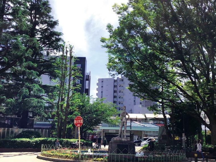 周辺の街並み 東武東上線「ときわ台」駅