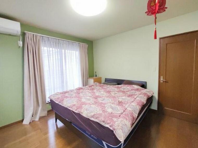 2階の主寝室です。