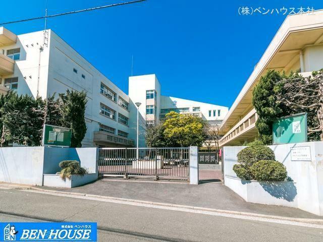 中学校 横浜市立西谷中学校 距離1680m