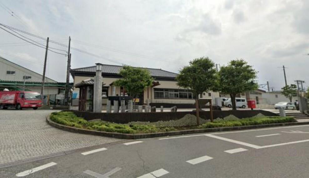 【近隣施設/駅】JR笠間駅まで3.4km(車7分)。JR友部駅からJR常磐線に乗り換えができるので、通勤通学に便利ですね。