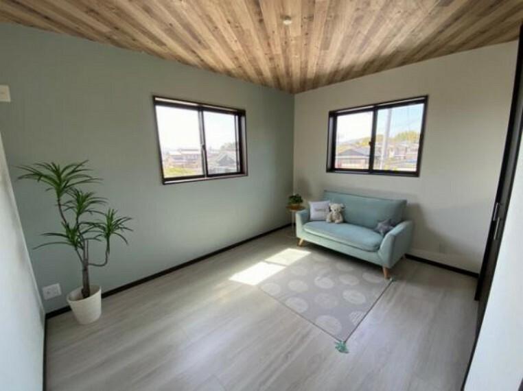 参考プラン完成予想図 \同仕様写真/シンプルな洋室でお部屋のコーディネートが楽しめます