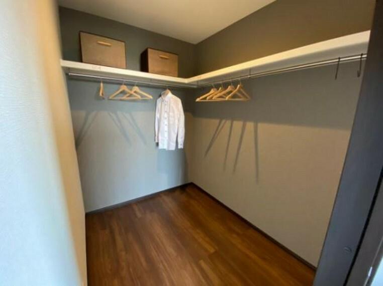 参考プラン完成予想図 \同仕様写真/大容量のウォークインクローゼットでお部屋がすっきり片付きます