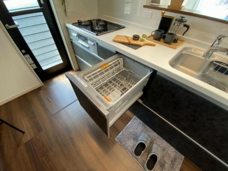 参考プラン完成予想図 \同仕様写真/後片付けらくらくの食器洗浄乾燥機搭載