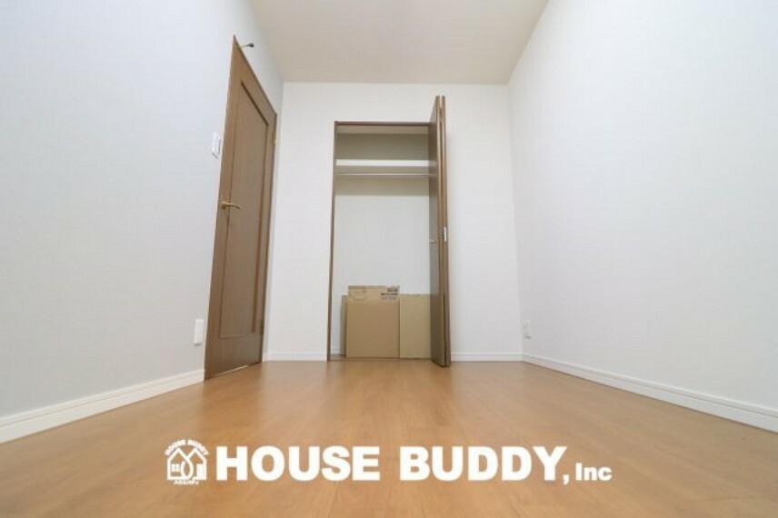 洋室 全居室収納付きで広々住空間