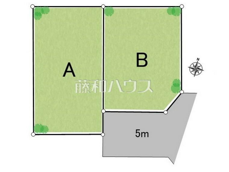 区画図 全体区画図 【清瀬市中清戸1丁目】