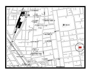 区画図 3駅利用可能!駅から徒歩圏内、商業施設も近く、利便性が魅力の立地!