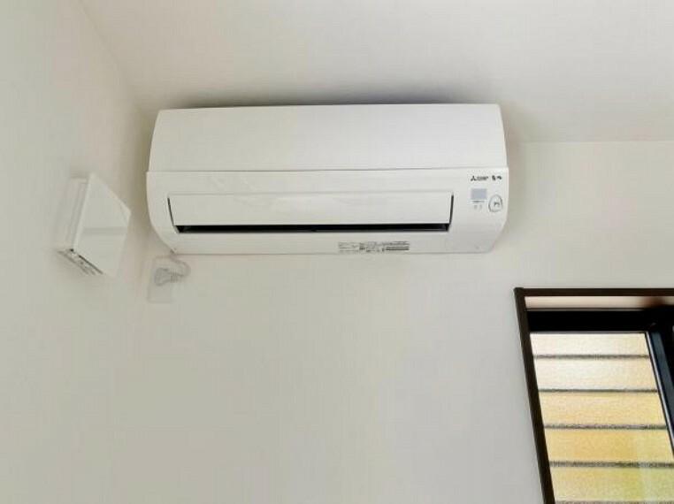 冷暖房・空調設備 ●1号棟(撮影2021年5月)●