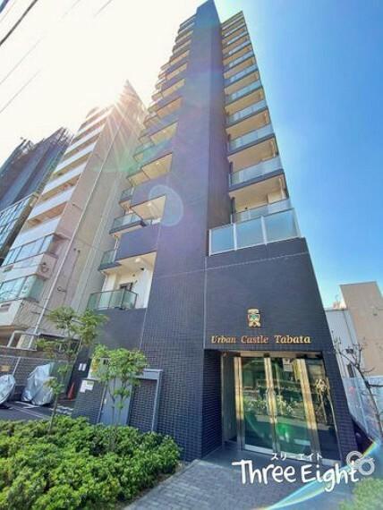 外観写真 JR高崎線「尾久」駅徒歩8分!東京駅までは13分!都心へのアクセス良好 それでいて周辺環境も揃ってます!