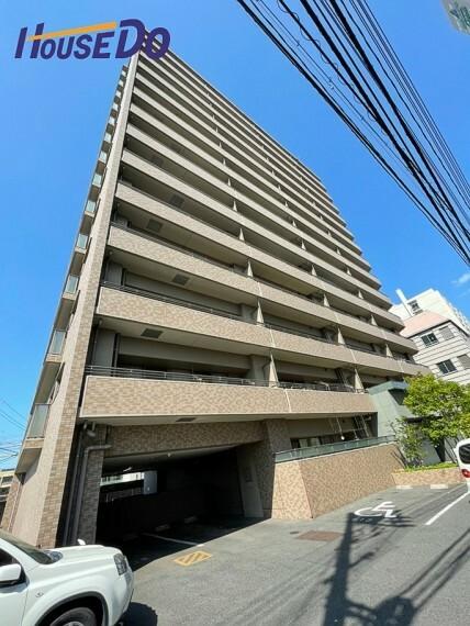 外観写真 大元駅まで徒歩11分! ペット飼育可能なマンションです!