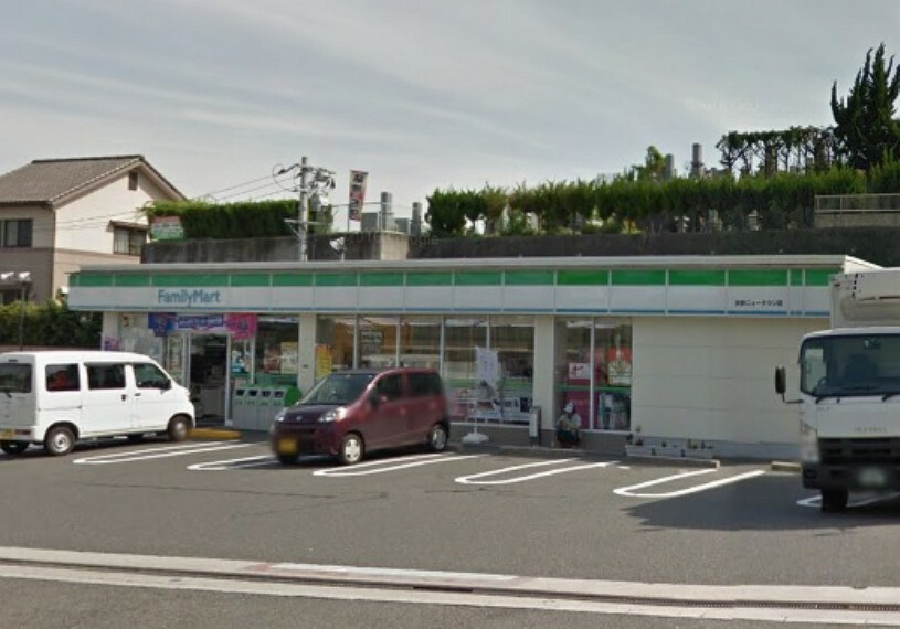 コンビニ ファミリーマート 矢野ニュータウン店