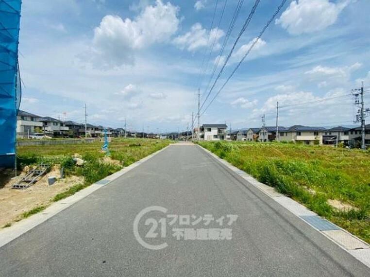 現況写真 景色がよく見通しのよい直線道路です