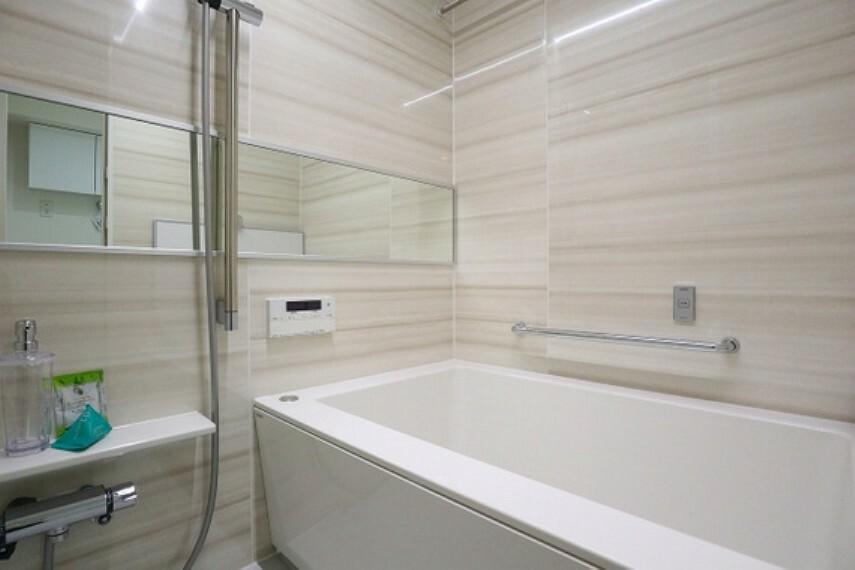 浴室 ご入居後なにかトラブルがあった際も安心のアフターサービス保証付き(同仕様のバスルーム画像)