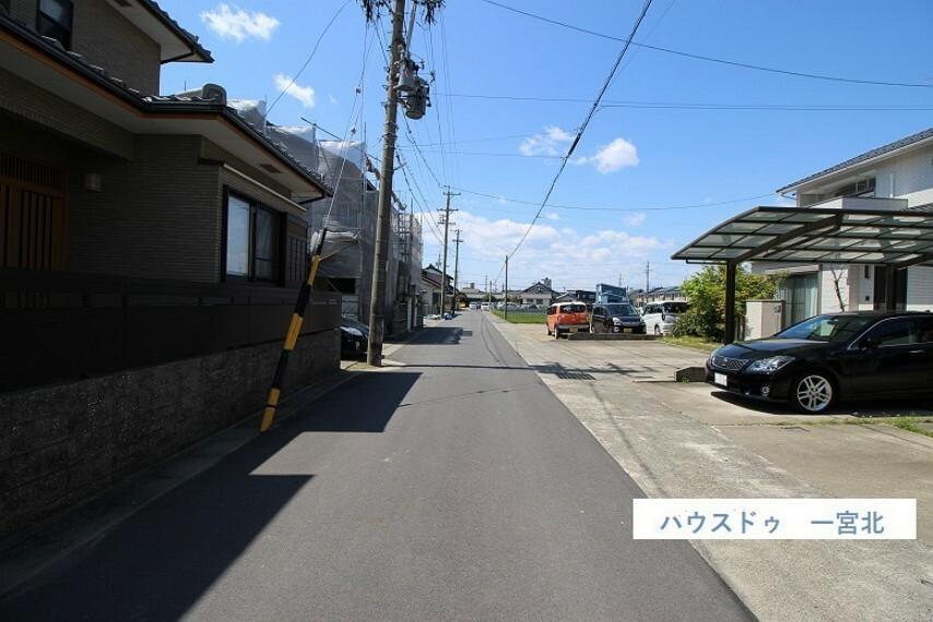 外観・現況 前面道路、南側公道 9.4m