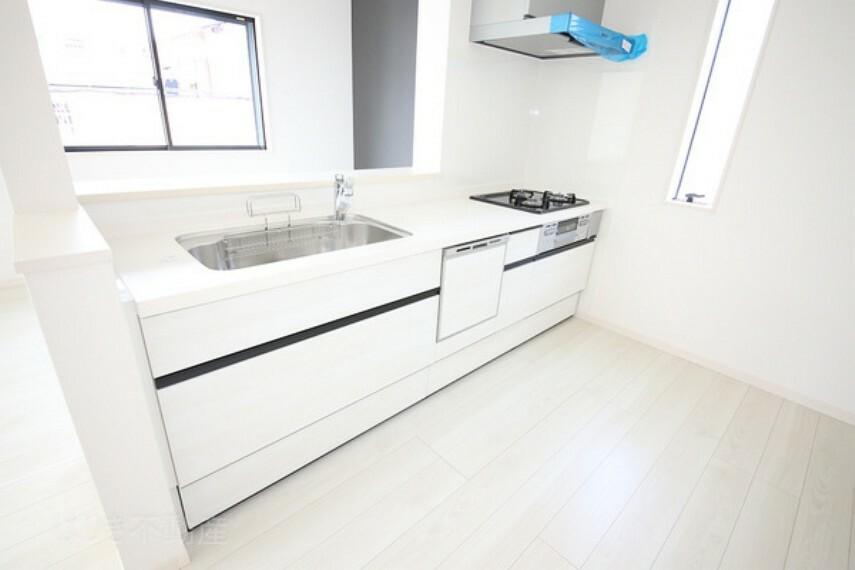 キッチン 清潔感あるキッチン