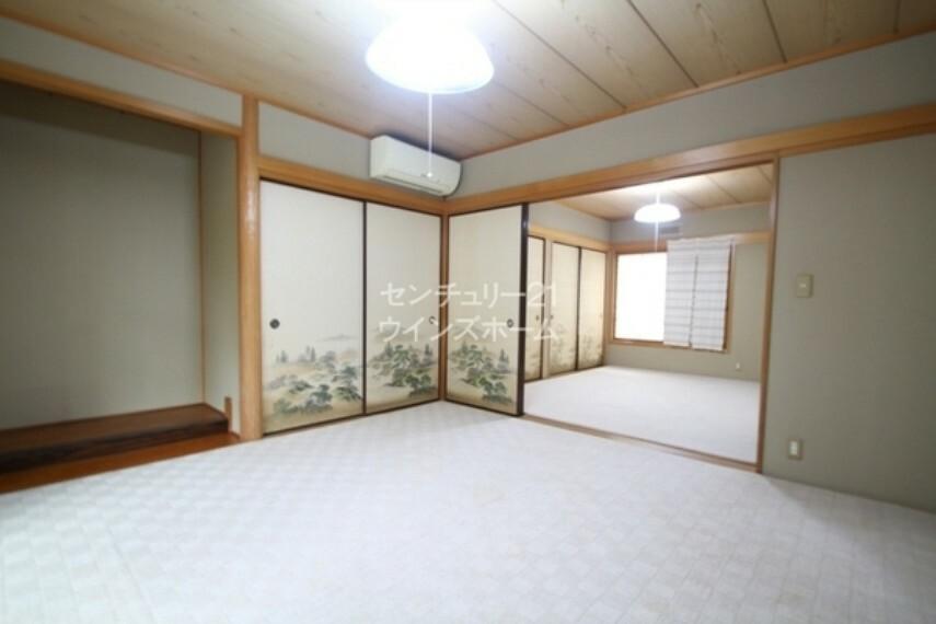 和室 ほっと落ち着く和の空間もご用意しました