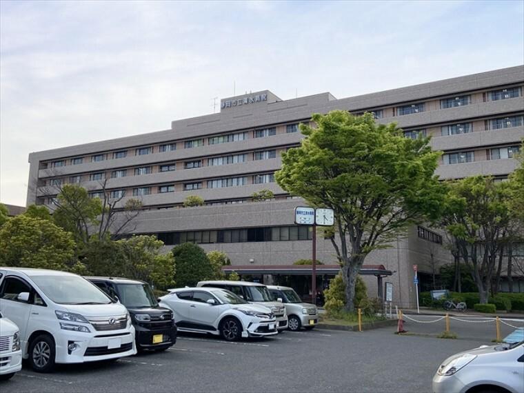 病院 静岡県立総合病院(約3800m・車10分)静岡市の公立総合病院。救急センターが常設しています。(令和3年4月撮影)