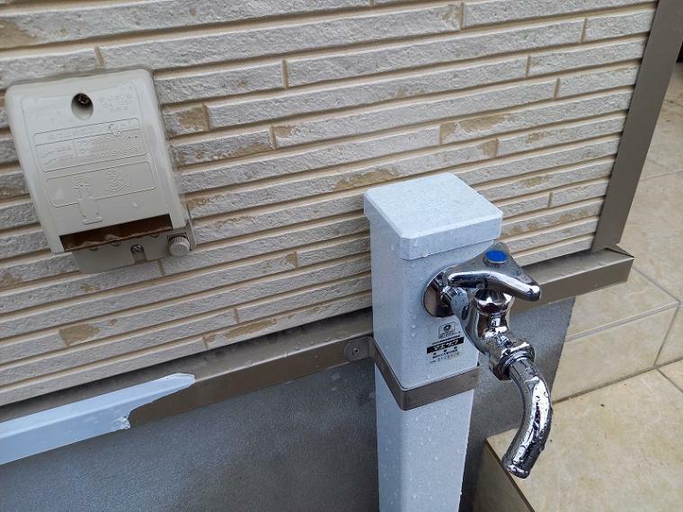 外部コンセント・立水栓