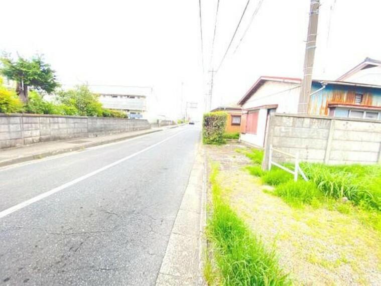 現況写真 小田急線「愛甲石田」駅徒歩約8分の立地です。
