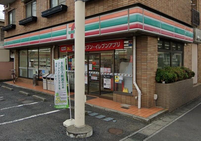コンビニ 【コンビニエンスストア】セブンイレブン 松戸栗山店まで1066m
