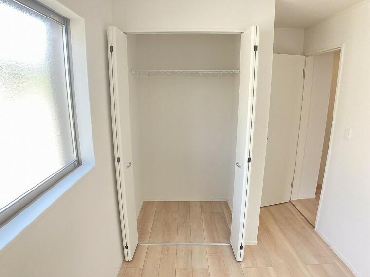荷物が多くても収納がたくさんありますのでお部屋もスッキリ!